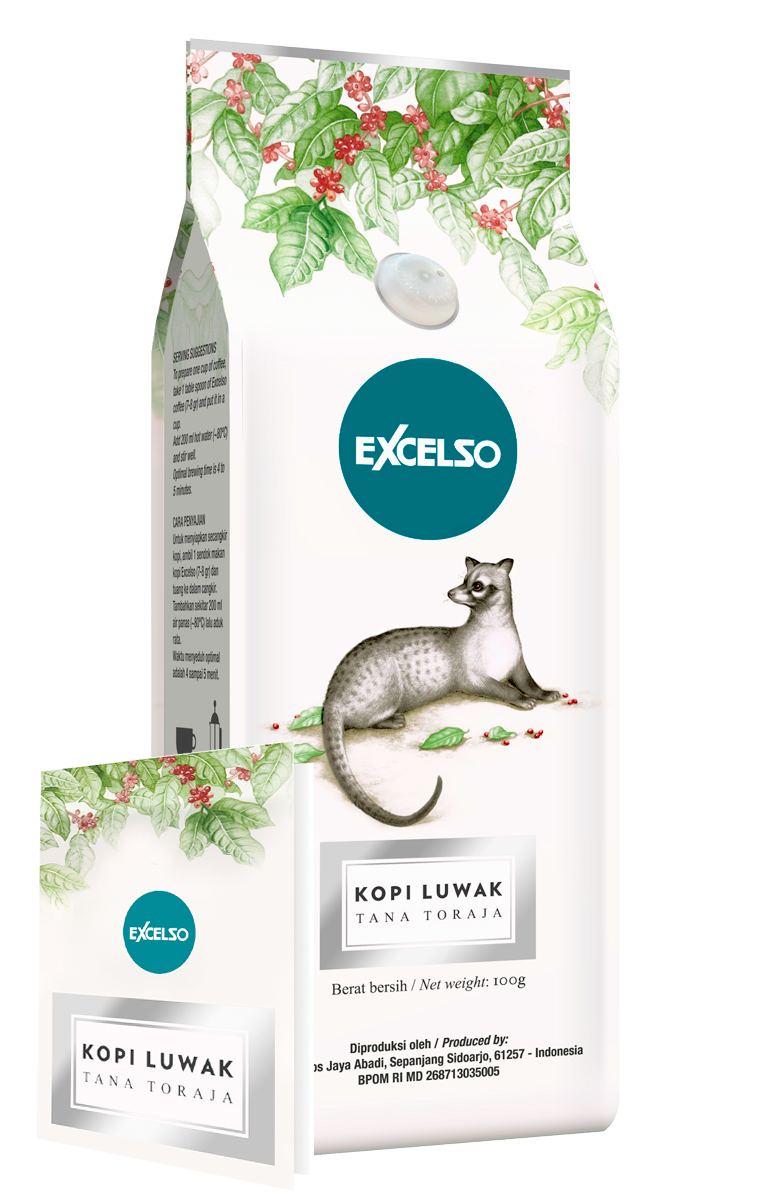 Пачка EXCELSO Kopi Luwak